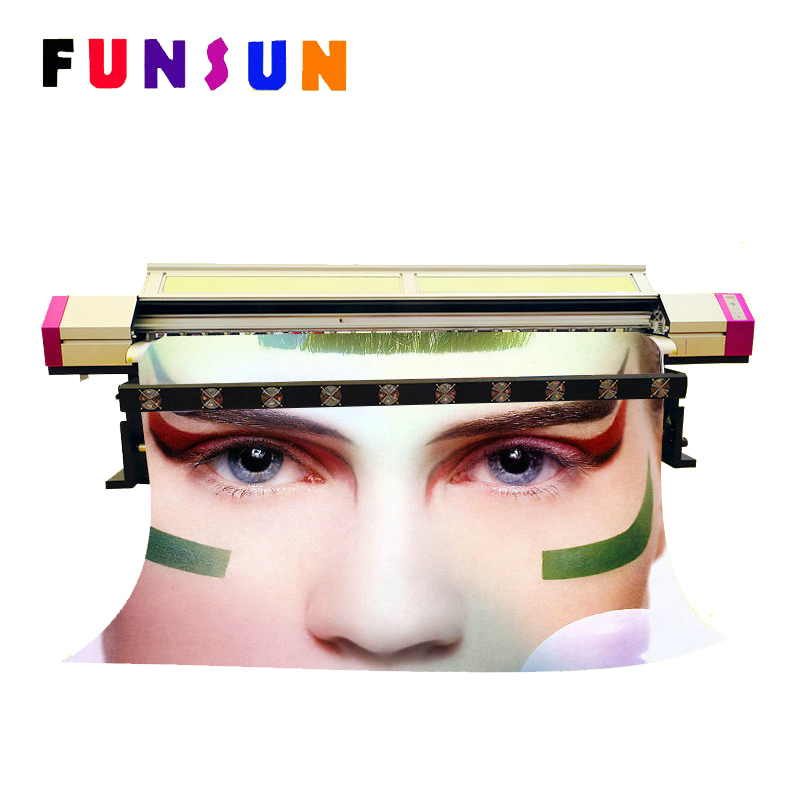 Hot Sale 3.2M Two Dx5 Heads Sublimation Eco Solvent Printer For Transfer Textile