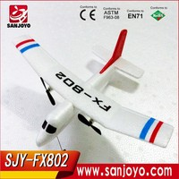 Baby Gift Plane/Airplane : Fly Bear FX-802 2.4G 2CH 310mm EPP RC Glider Airplane RTF SJY-FX-802