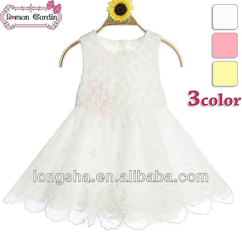 新しいarrvial安い夏のドレスの工場の絵の子供カジュアルドレスをブランド