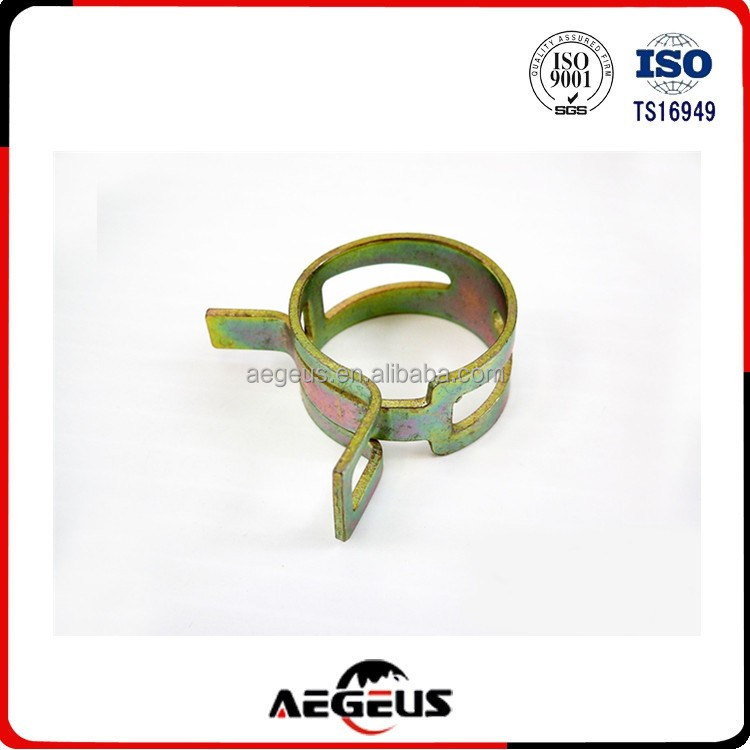 Hose Spring Clip Clamp Steel Vacuum Fuel Oil Hose Line Band