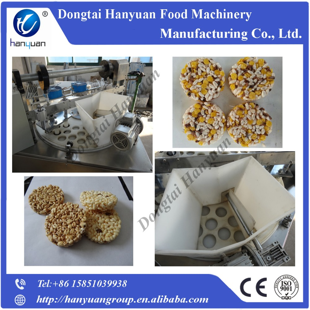 puffed rice cake forming machine for sale