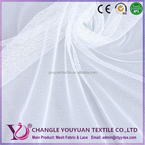 Filtering White Utility Weavers Polyester Mesh Fabric