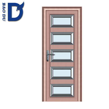 Aluminium Bathroom Doors Design Powder Coated Alloy Door Bd Bd Buy