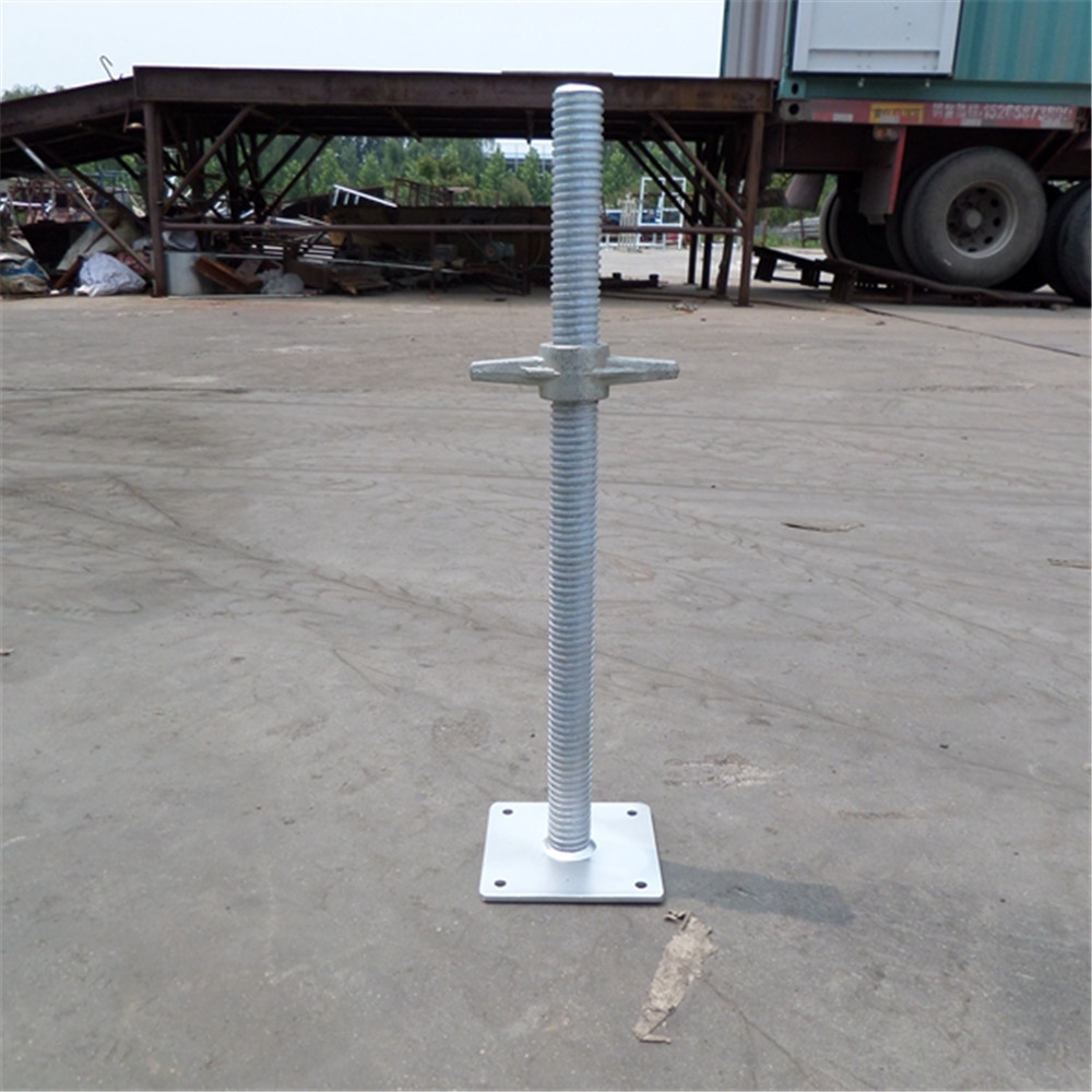 ABJ-00214 Tianjin Shisheng Factory 120*120*5mm Base Plate Good Sell Telescopic Scaffold Base Jacks/U Head Jack