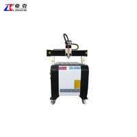 Small Advertising Wood CNC Engraving Machine NcStudio ZK-6090