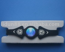 2012 hot energy silicone improve balance and flexibility bracelet