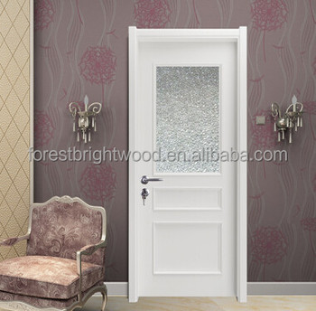 Wood Bathroom Frosted Gl Interior