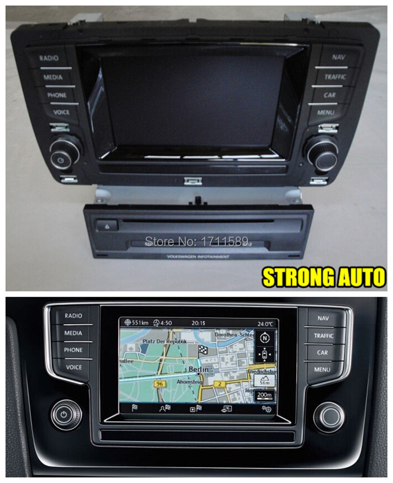 vw golf mk 7 discover media pro navigation system discover. Black Bedroom Furniture Sets. Home Design Ideas