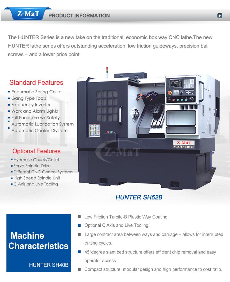 Advanced Design Easy Operation Efficient Sh52b Cnc Turning Horizontal Lathe  Machine - Buy Horizontal Lathe Machine Product on Alibaba com