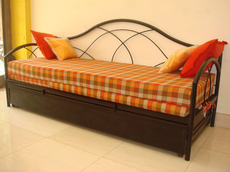 Sofa Bed Wrought Iron