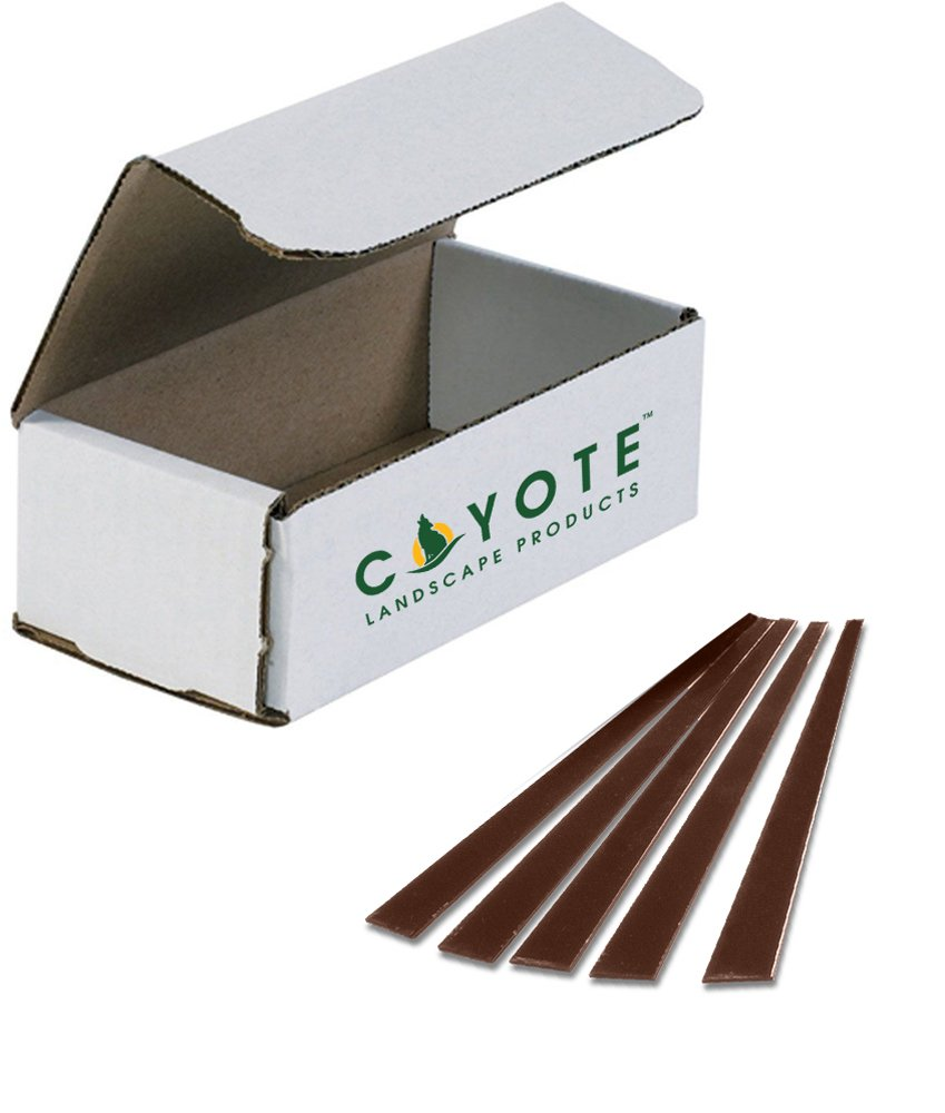 Coyote Landscape Products Steel Additional Stakes (5 Pack), Brown