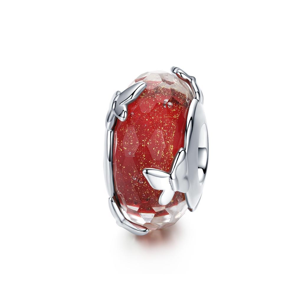 43e9d0897633 Venta al por mayor dijes de mariposa vidrio-Compre online los ...