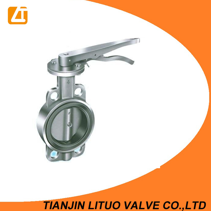 Selected product wholesale wafer type 10k butterfly valve wras cert
