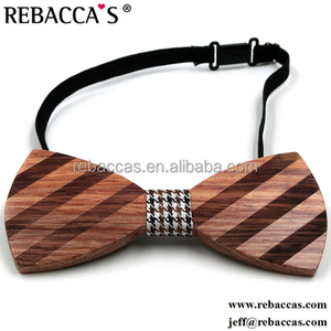 Rebacca's Fastion Plastic Bow Ties Wood Bow Ties Wooden Bowtie