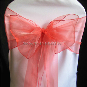 Hot Selling Fashion Style Wedding Chair Sash