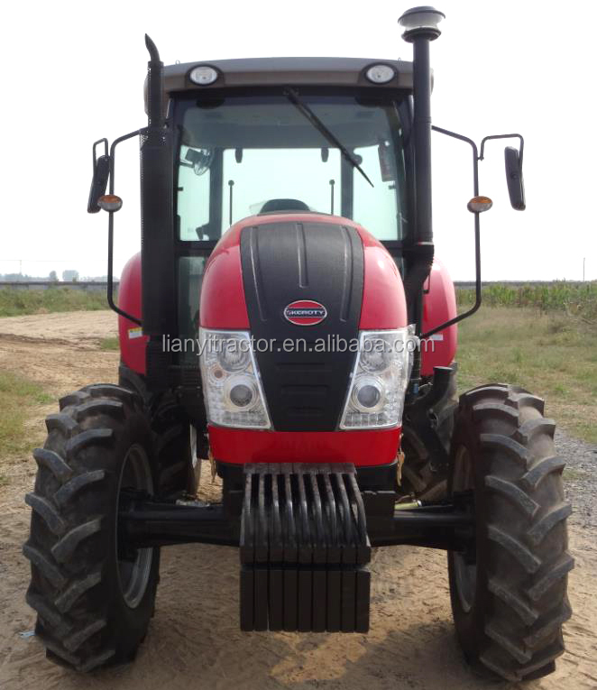 Keroty farming equipment 140hp big cheap tractor with air conditioning
