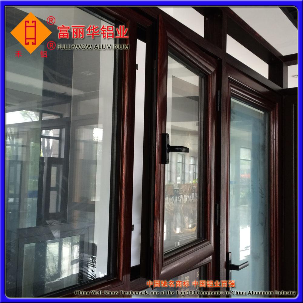 Wood Grain Aluminium Doors And Windows For Dubai - Buy Aluminium Doors And  Windows Dubai,Wood Grain Aluminium Doors,Wood Grain Aluminium Windows