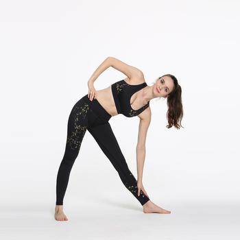 Deportivos pantalones de yoga personalizadas grupo de edad fitness yoga  orgánicos ropa tipo de producto mujer b1ac9ec7c3be
