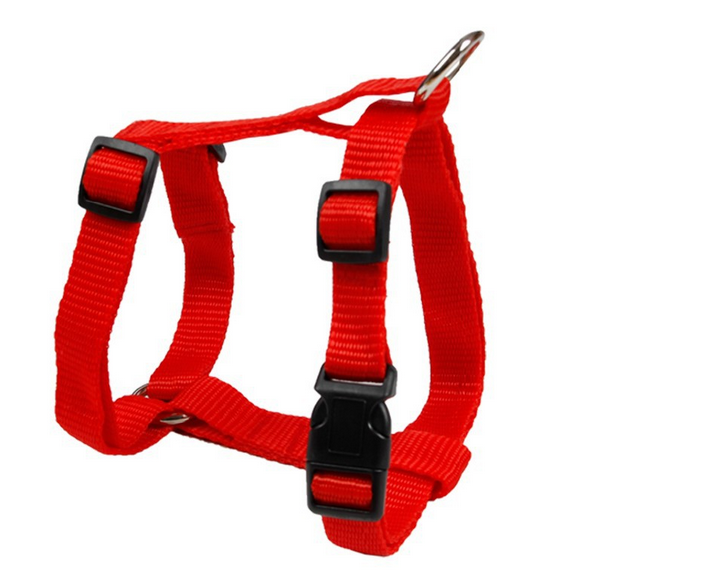 Smart Harness Quick Release Buckles Traction for Dogs Flat Strap Webbing