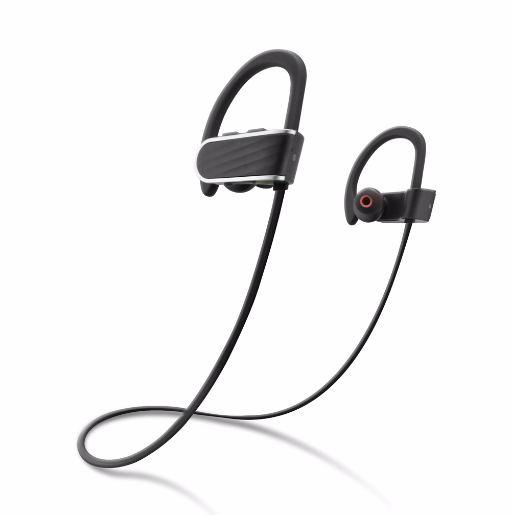 Universal retractable headset with mic flexible bluetooth earphone wirelesss bluetooth headphone for Phone RU13