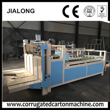 Semi-automatic Press Type Folder Gluer 10years / Corrugated Board Gluing  Machine 10years - Buy Semi-automatic Corrugated Carton Laminating Type  Gluer