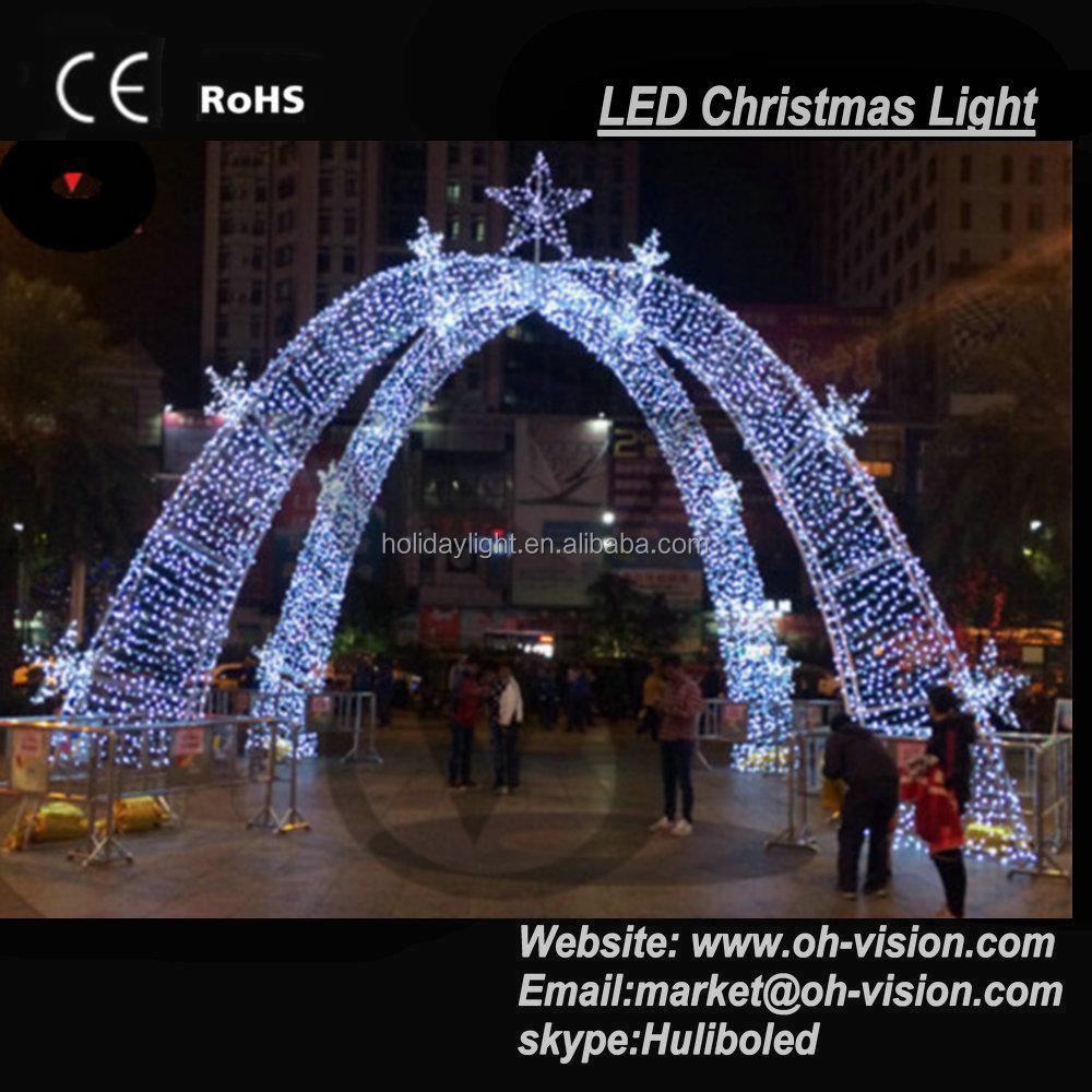 Outdoor LED Christmas Light Street