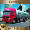 Top Quality 3 axles fuel tanker truck trailer used to transport diesel , truck trailer spare parts