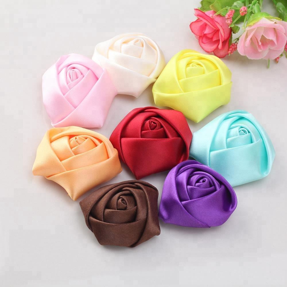 custom expressions satin ribbon rose flowers