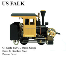 Falk ,1:20.3 Live Steam Locomotive (Brass made)