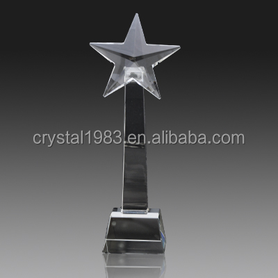 Custom K9 crystal trophy wholesale new design crystal trophy and awards TA4805 Ruiliang Crystal Handcraft Factory