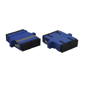 UPC Single-mode Duplex FC SC LC ST Fiber-optic Adapters with Flange Coupler