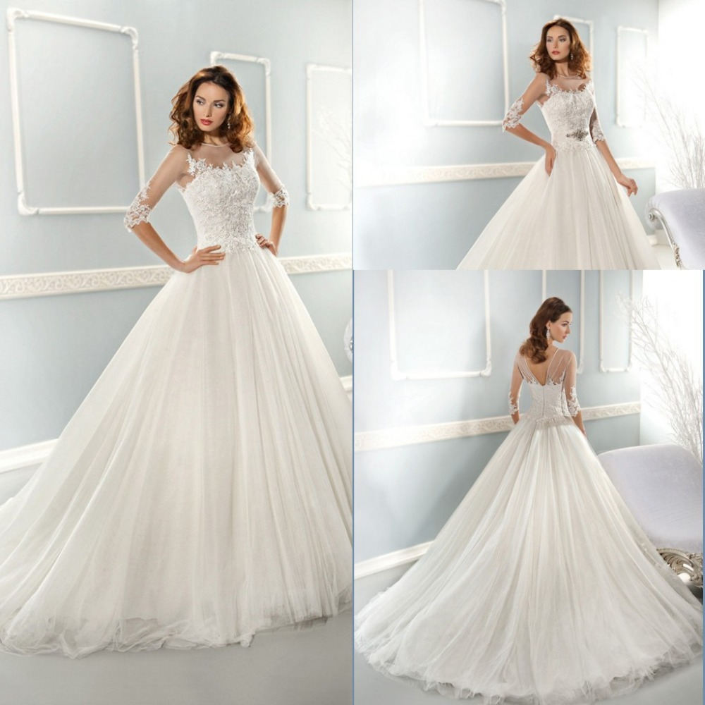 New Arrival Long White Country Western Wedding Dresses