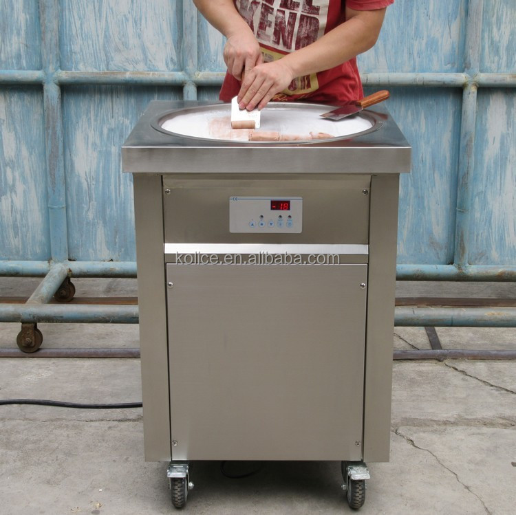 Free shipping to world wide Hot sale Liquid Nitrogen rolled ice cream machine