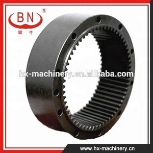 YN32W01012P1 Rotating Gear Ring Apply to KOBELCO SK200-6 Excavator swing  reduction gearbox