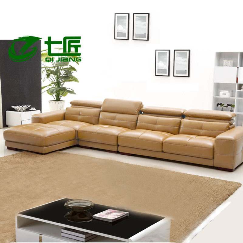 High End Leather Sofa: Combination Of High End Modern Leather Sofa Leisure Sofa L