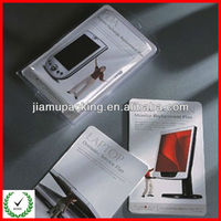Mobile phone package plastic blister box with cardboard