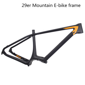 China miracle boost 27.5er BB92 hard tail electric mtb carbon bike frame