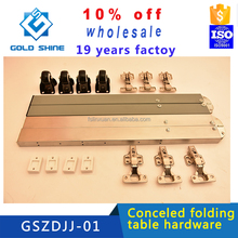 New arrival Concealed moveable extension dinner table hardware