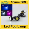18mm car led fog lamp eagle eye super slim led drl 9W with bolt