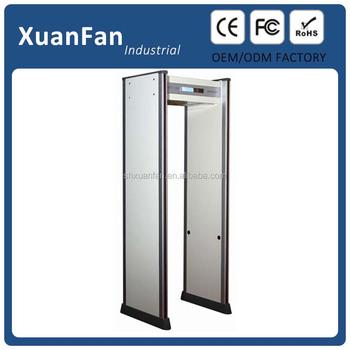 Airport Metal Detectors Door Frame Metal Detector,Walk Through Body ...
