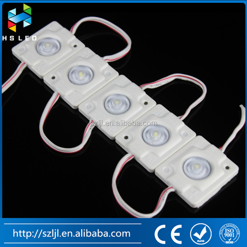 New Product Waterproof 3535 Led Optical Lens Module Injection Led Module 12v for Stage backlighting