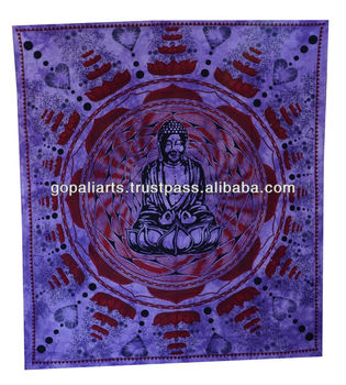 Buddha Tapestry Wall Hangings meditation buddha tapestry,hippie wall hanging,indian bohemian