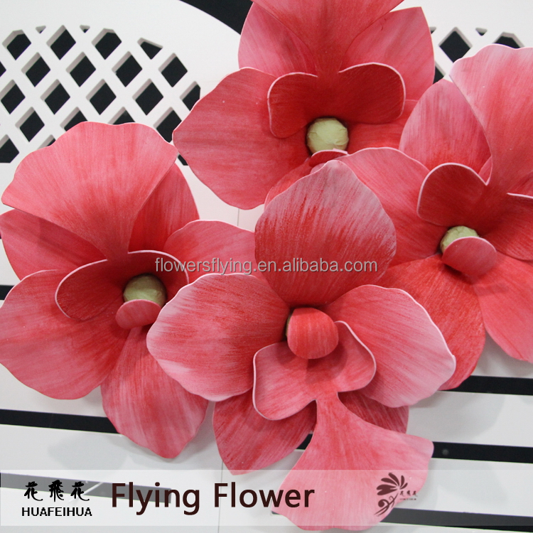 Factory made competitive wall hanging artificial flowers orchids
