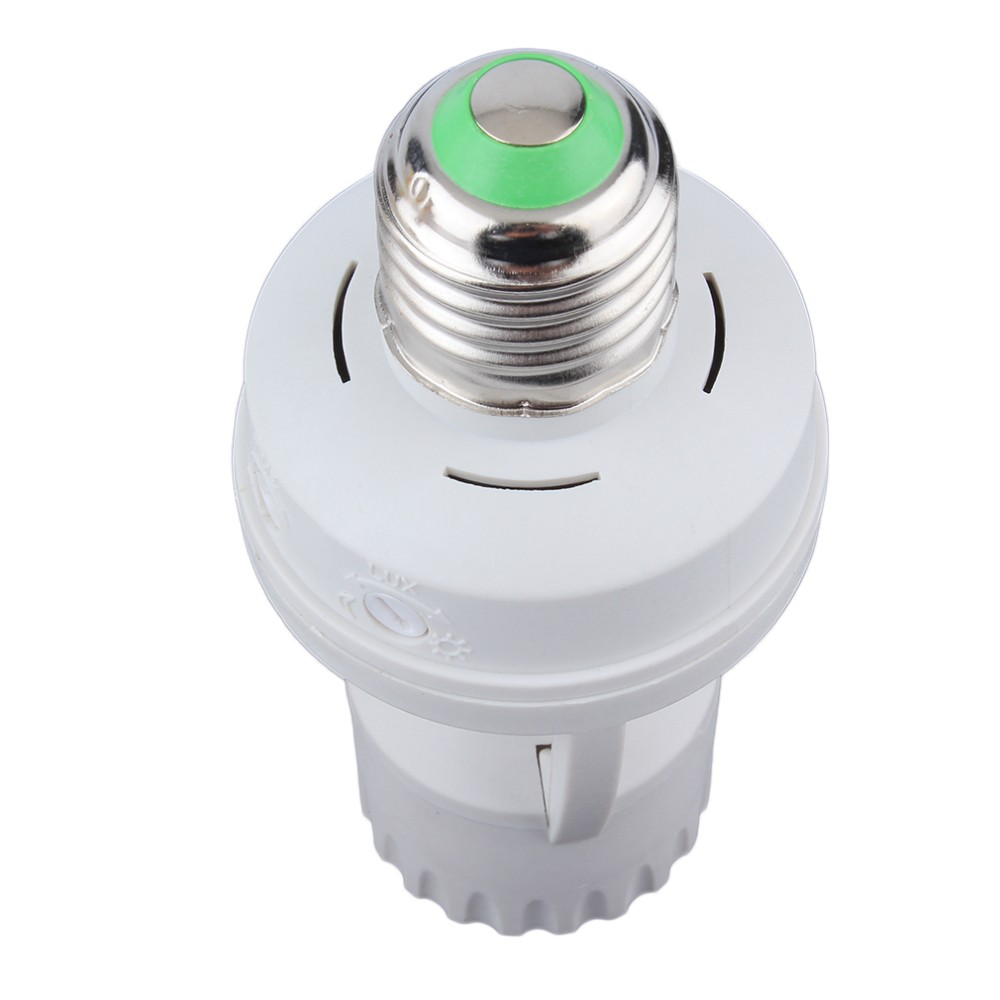 110-220V 360 Degrees PIR Induction Motion Sensor IR infrared Human E27 Plug Socket Switch Base Led Bulb light Lamp Holder