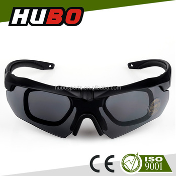 Good Quality Sunglasses  hubo custom good quality optical glasses insert army safety