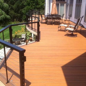 MexyTech wood polymer composite flooring plank co-extrusion decking