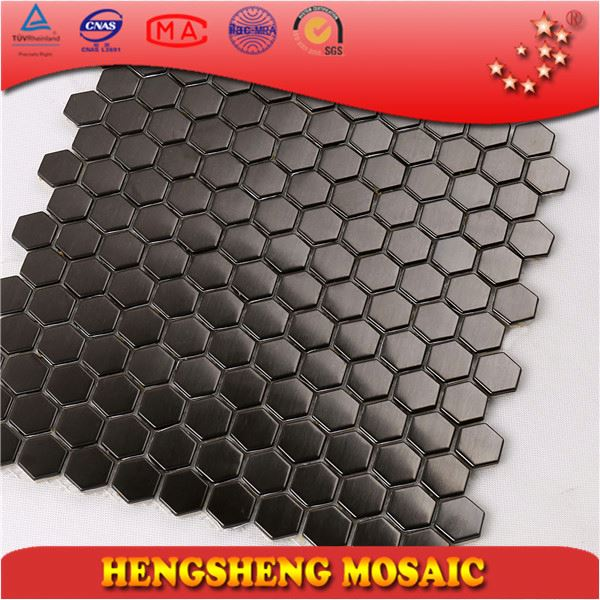 SA09 Indoor decorative tile stainless steel mosaic mixed glass mosaic