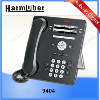 AVAYA 9404 Digital Deskphone With High Quality Speakerphone, Wired And Wireless  Headset