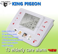 GSM GPRS 3G Elder Personal safety Alarm,Medical Alert GSM Elderly Guarder with 4 quick dial button protection product