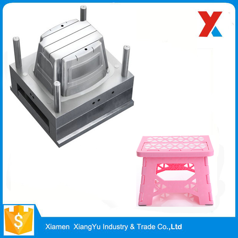 Small Light Cute Fashion Plastic Folding Stool Injection Mould